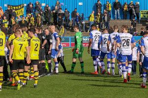 Harrogate Town v Barrow. Picture: Matt Kirkham