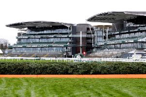 Aintree looking resplendent for the 2019 Grand National meeting