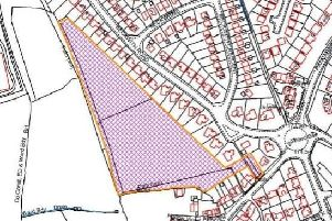 The proposed development, with the entrance in the bottom-right corner. Picture: Harrogate Borough Council