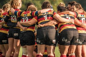 Harrogate RUFC Ladies have been promoted three times in the space of three years. Picture: John Ashton/ickledot