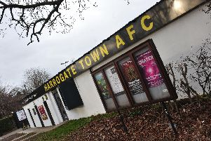 Harrogate Town AFCs immediate future is at their Wetherby Road ground, the clubs managing director has said.