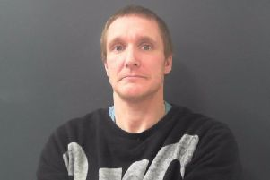 Gary Johnson has been jailed after he was caught with a large kitchen knife and a sharp-pointed half golf club in the streets of Harrogate.