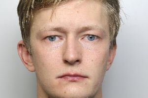 The face of a killer: Former Wetherby High School pupil Joe Atkinson murdered girlfriend Poppy Devey Waterhouse.