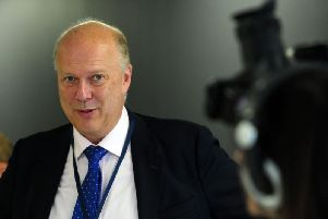 Transport Secretary Chris Grayling. Pic: Simon Hulme