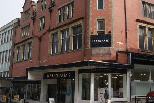 Debenhams store on Parliament Street in Harrogate.
