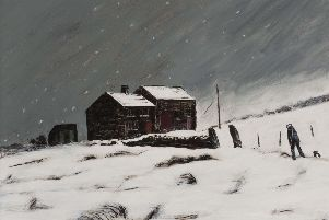 An oil by Peter Brook sold for �6,800.