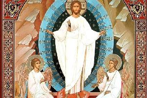 This image symbolises the radiant light of Christ and of those who are truly influenced by him.