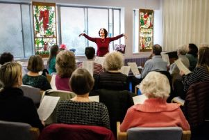 The choir runs every Tuesday until 23 July and singers can drop-in between noon and 1pm at the hospital's chapel.