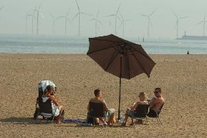 Will you be enjoying the warm weather in Hartlepool today?