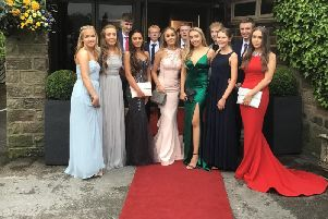 Year 11 leavers from Oakhill College