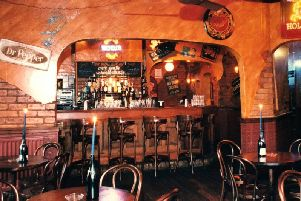Flasnback to Harrogate in the 1990s and the bar at Jimmys on Kings Road. Was this Harrogate's greatest-ever nightclub?