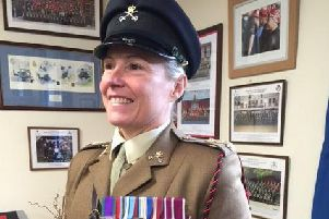 Captain Louise James is currently based at Deverall Barracks at the Joint Services Mountain Training Wing.