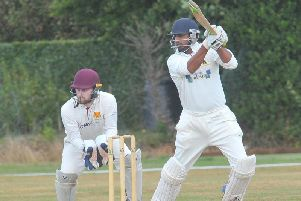 Yasar Ali scored almost half of Follifoots runs in their comprehensive defeat to league leaders Otley.