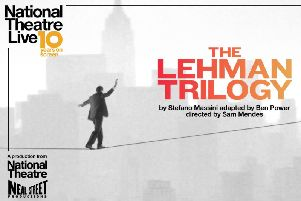 The Lehman Trilogy is being screened in Gainsborough this month