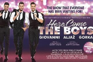 Strictly stars Aljaz Skorjanec, Giovanni Pernice and Gorka Marquez are live at the Baths Hall next week.