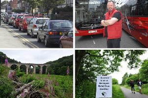 What role will the Harrogate Bus Company have to play in the future as Harrogate looks to solve its traffic problems without needing to put a relief road through Nidd Gorge.