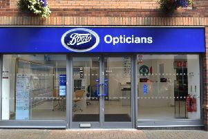 Boots Opticians in Bridlingtons Promenades Shopping Centre.