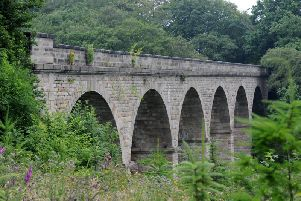 Police are appealing for information after a middle-aged man indecently exposed himself at Nidd Gorge, then fled the scene.