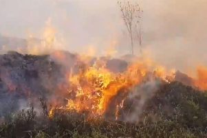 Moorland fires can get out of control really quickly