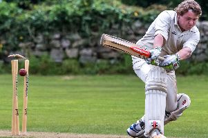 A Grosmont batsman is bowled. Picture by Brian Murfield.