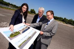 Partners met at the former Buxton Waters bottling site to discuss plans for the future
