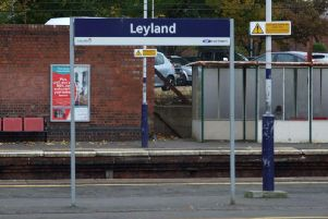 The 15-year-old was allegedly robbed on a crowded platform at Leyland train station on Friday, July 19