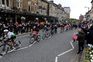 The Harrogate town centre UCI circuit was first used by the riders in the Tour de Yorkshire last May.
