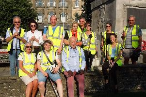 Tidying up Harrogate - Friends of Harrogate Town Centre.