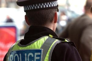 Police in Harrogate are appealing for witnesses to a collision in the town centre involving a black car and a cyclist.