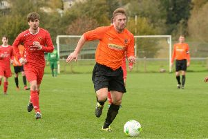 Brian Blewitt couldn't save Wetherby Athletic from a first defeat of 2019/20. Picture: Peter Arnett.