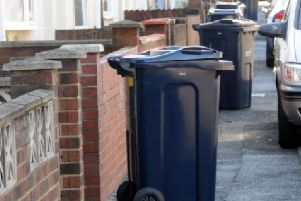 Stress: Missed bin collections have caused angst across much of the district for the last two months.
