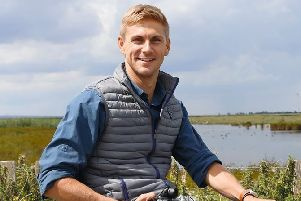 Inspirational presenter, speaker and Paralympian Steve Brown will join the events ahead of the Yorkshire 2019 Para-Cycling International. Photo courtesy of BBC Countryfile.