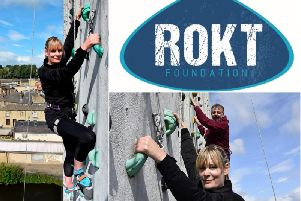 ROKT Foundation - Euan Noble (ROKT director) and Katie Kinsella (community director)