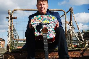 Acclaimed Harrogate poet and musician who is involved in one of the UKs most ground-breaking record publishing firms and labels,  H4H Music publishing and Hi4Head Records.