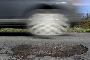 Brake, which campaigns for road safety, says damaged roads 'can contribute to potentially devastating crashes'.