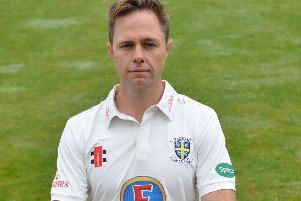 Nathan Rimmington took 3-64 against Lancashire today