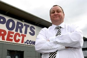 Mike Ashley. Picture by PA