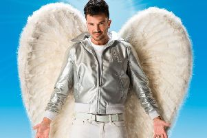 Peter Andre as Teen Angel in a new production of Grease which will tour the UK and Ireland in 2019. Pic: Hugo Glendinning.