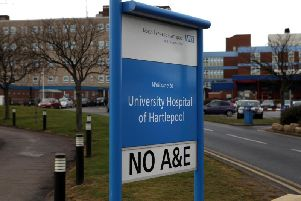 """Our writer thinks the staff at the University Hospital of Hartlepool are """"absolutely brill""""."""