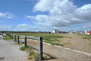 The site of the proposed car park on Seaton Carew's old fair ground.