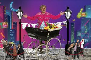 Brendan O'Carroll stars in Mrs Brown's Boys, which is bringing a new musical to the country's arenas.