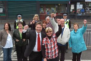 Flashback to 2009 when Hartlepool's then MP, Iain Wright, front centre, and campaigners celebrate victory in the battle against a previous 24-hour 'booze hatch' bid. Our letter writer is unhappy at a similar application 10 years later.