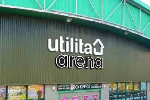 The Utilita Arena is the new name for Newcastle Arena.