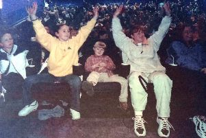 A Mexican wave went down well with cinema goers at the opening of the multiplex.
