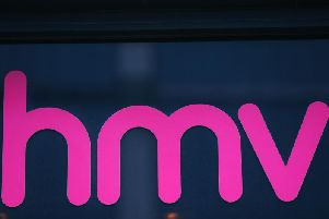 HMV. Picture from PA.
