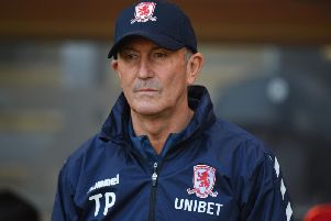 Middlesbrough boss Tony Pulis. Getty Images.