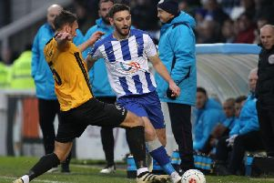 Jake Cassidy has called Hartlepool United a 'negative club'.