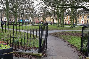 Northumberland Square, in North Shields.