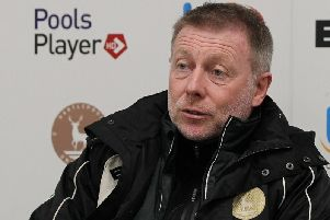 Craig Hignett is impressed with Hartlepool's forward pairing