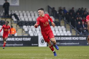 Josh Hawkes has been in fine form for Hartlepool United